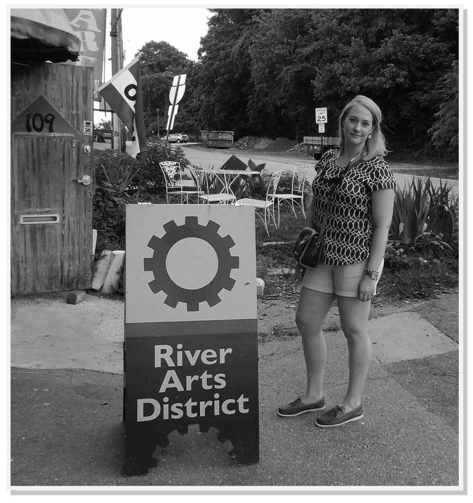 rad sign and me bw