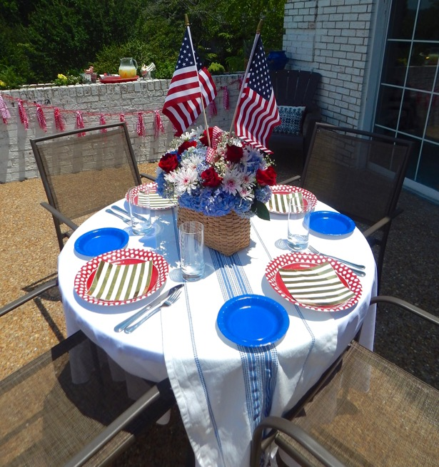 4th of July Tablescape 6