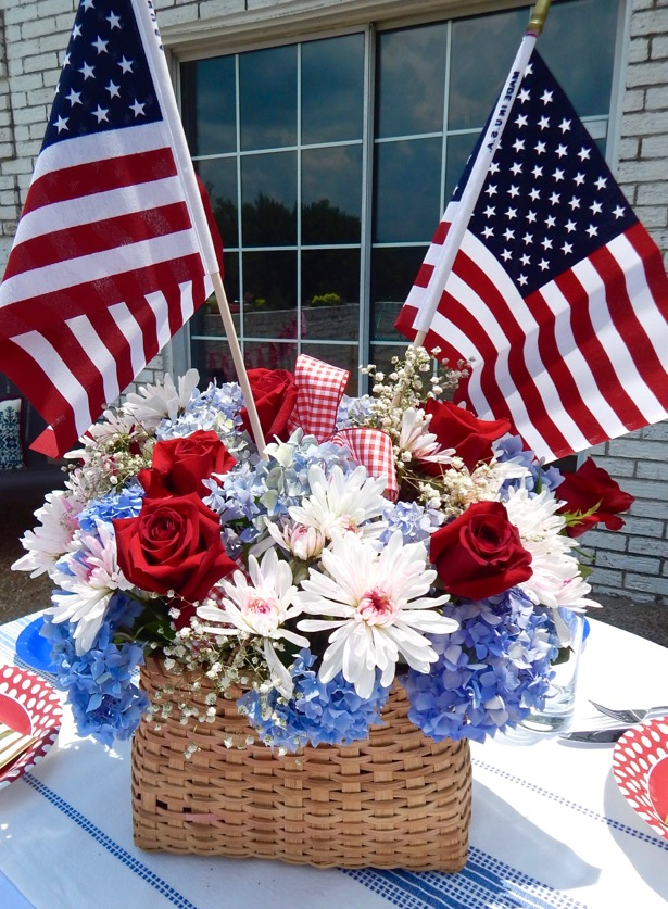 4th of July Tablescape 9