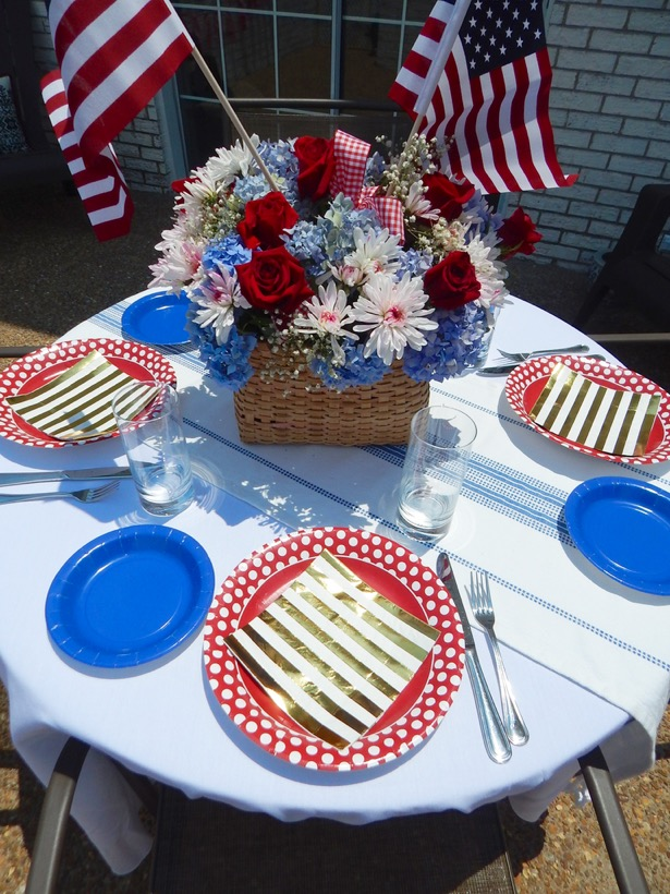 4th of July Tablescape5