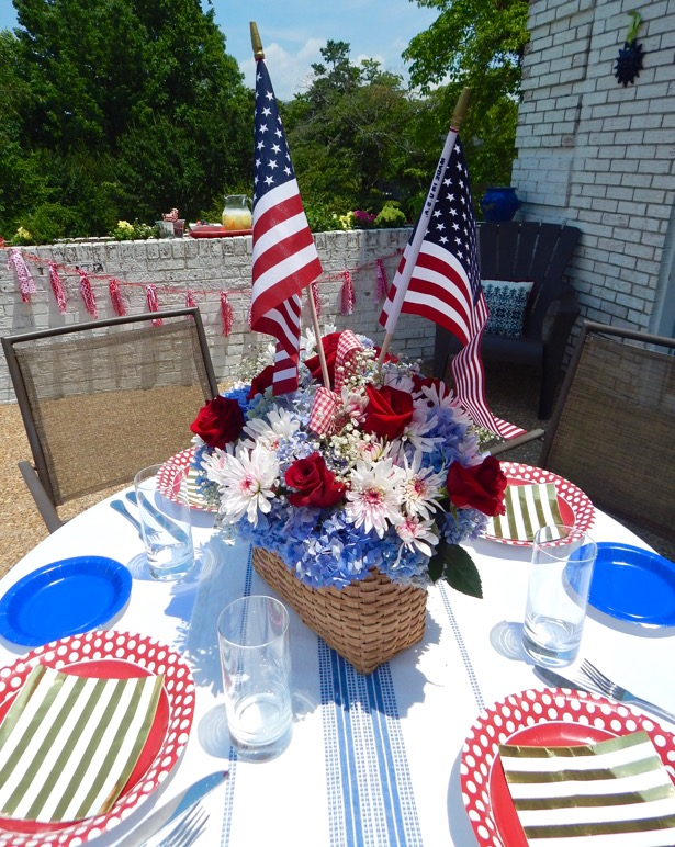 4th of July Tablescape7