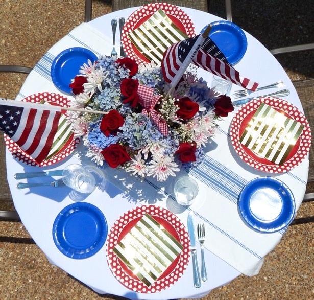 4th of July Tablescape8