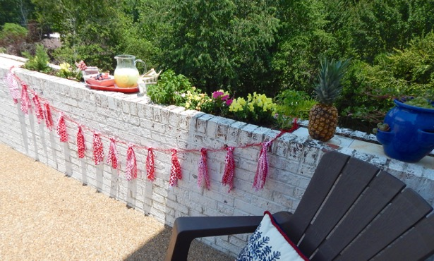4th of July Decoration Fabric Garland