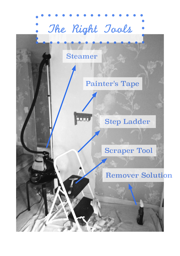 Liberate Your Walls Wallpaper Removal Tips Pender