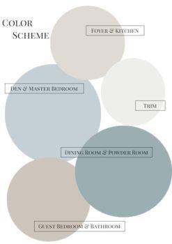 515 Vista Color Scheme. See more at penderandpeony.com