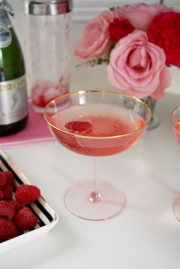 Blush & Bashful: Champagne Cocktail