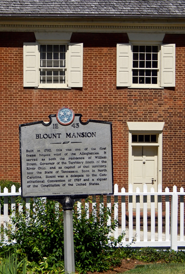 An afternoon Tour at Blount Mansion. Check out this historic house of Knoxville. Home of William Blount. Wonderful piece of Southern and American history.