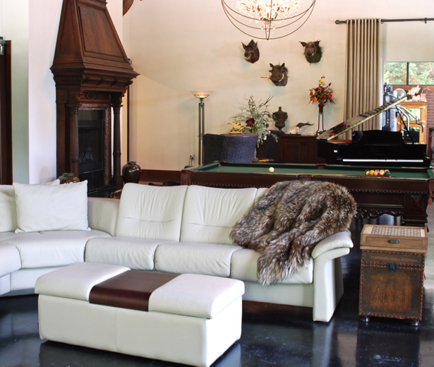 Home Tour: Safari Glam Meets Industrial Chic Home Decor Styles