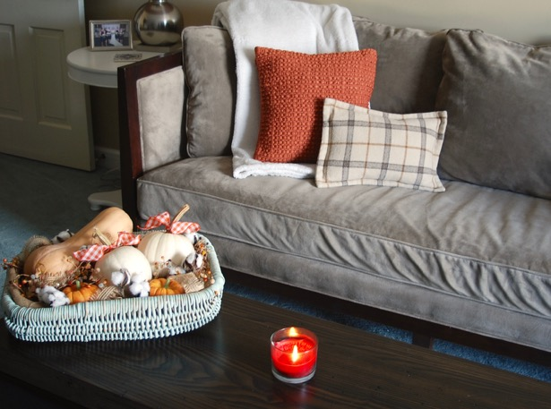 Check out my fall home tour in the Simply Seasonal: Fall Edition blog hop. 9 bloggers share their fall decor ideas and seasonal decorating tips to make the season great.