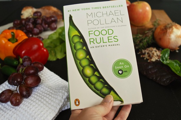 Read Food Rules by Michael Pollan to help you develop a healthy eating philosophy. You will be inspired by his food rules to eat clean and develop healthy eating habits.