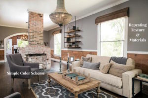Step 1 to Open Concept Decorating- Unify Design and Decor. Get the 4 step formula for bright and inviting open floor plan