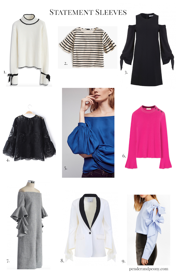 Best picks for tops and dresses with statement sleeves