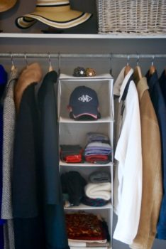 Create an organized entryway closet with these 5 tips