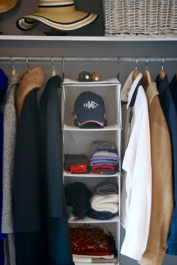 Create an organized entryway closet with these 5 steps