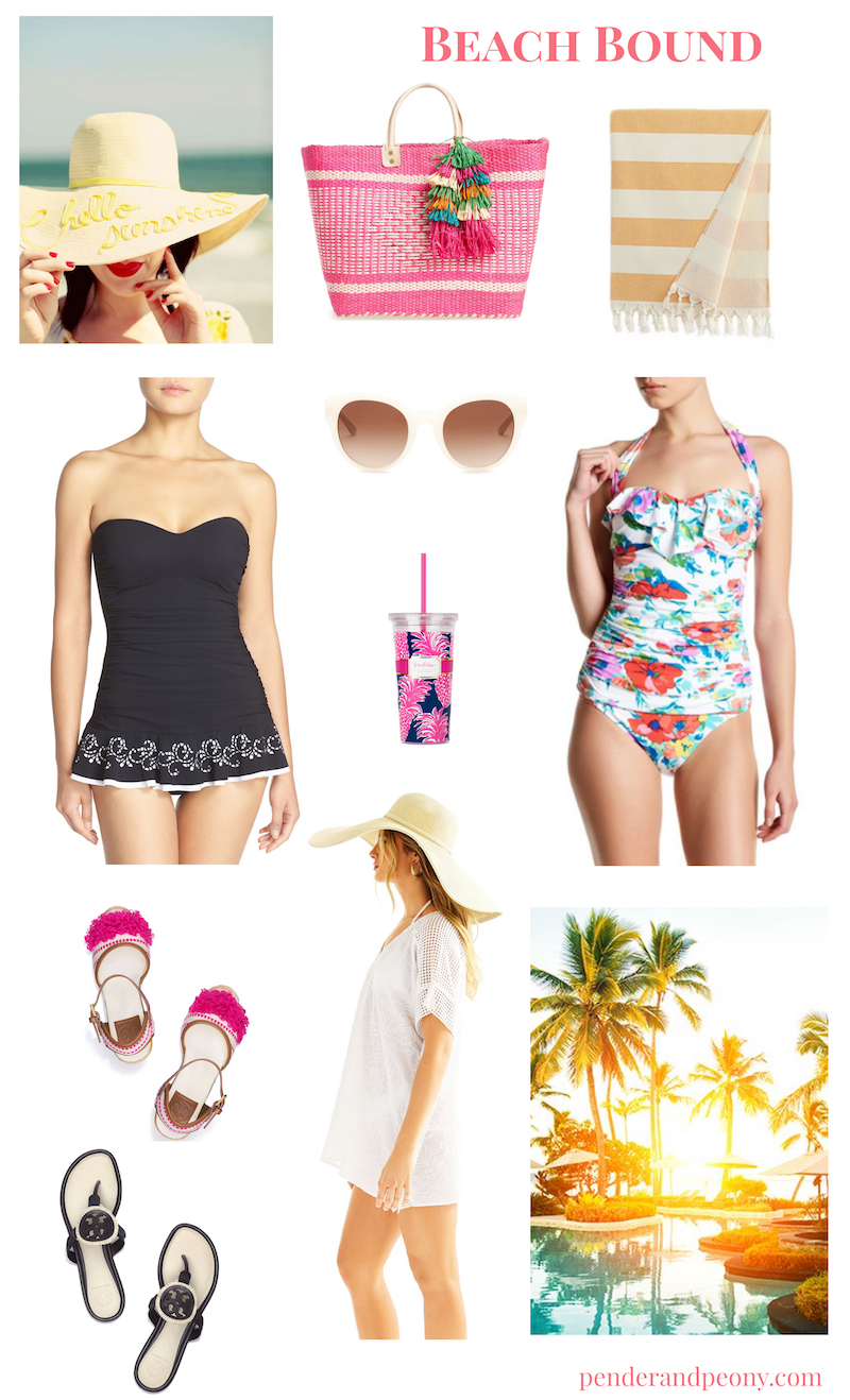 Planning a spring getaway to a warm, sunny clime? Check out my beach bound looks for packing inspiration!