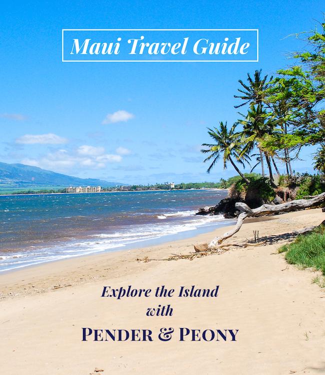 Explore Maui with Pender & Peony