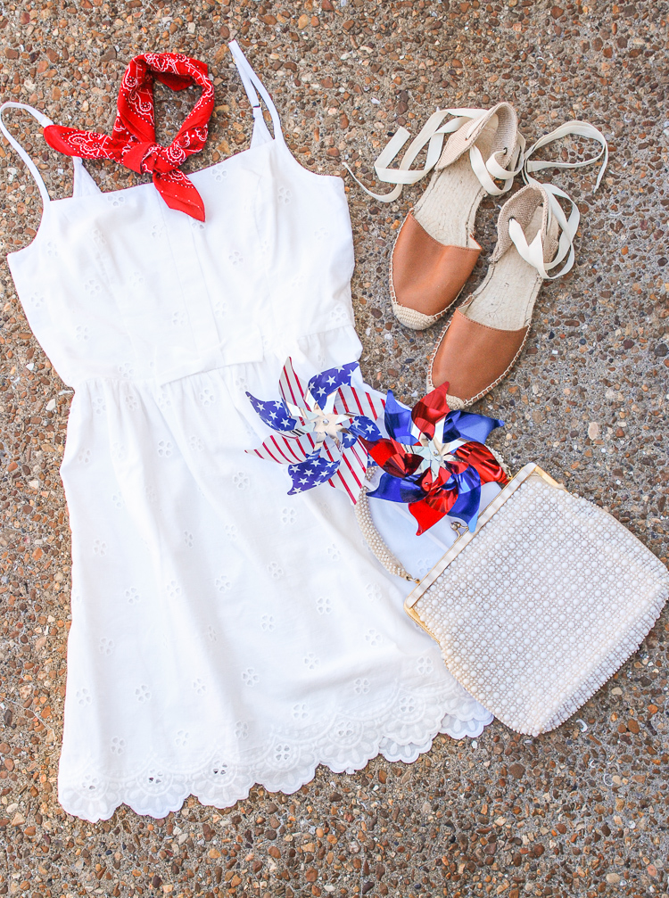 3 Preppy July 4th Outfits - Celebrate the USA this July 4th with some all American sportswear in classic red, white, and blue!