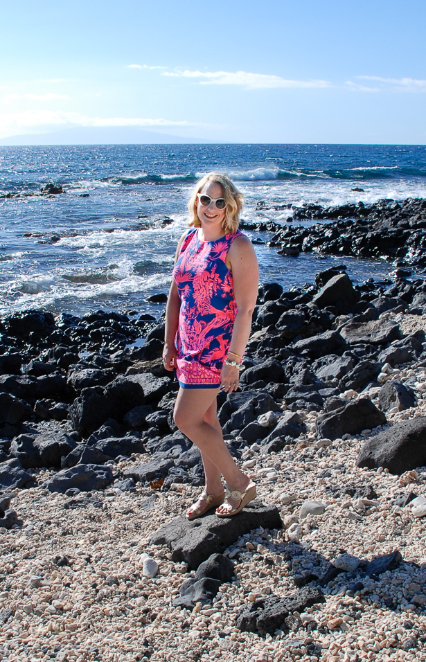 This summer romper maybe Lilly Pulitzer's best design yet: the look of a shift dress with the comfort and freedom of a romper