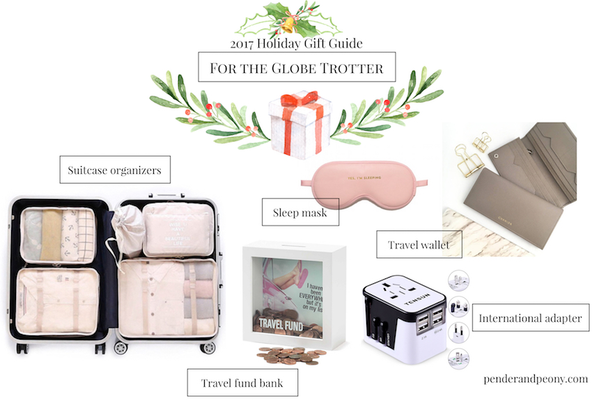 Check off every name on your Christmas list with Pender & Peony's 2017 Holiday Gift Guide! These 7 curated gift guides cover every personality from the globe trotter to the bibliophile.