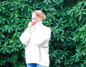 An oversized sweater is a must-have for fall and winter, so cozy up and enjoy the crisp, cool air!