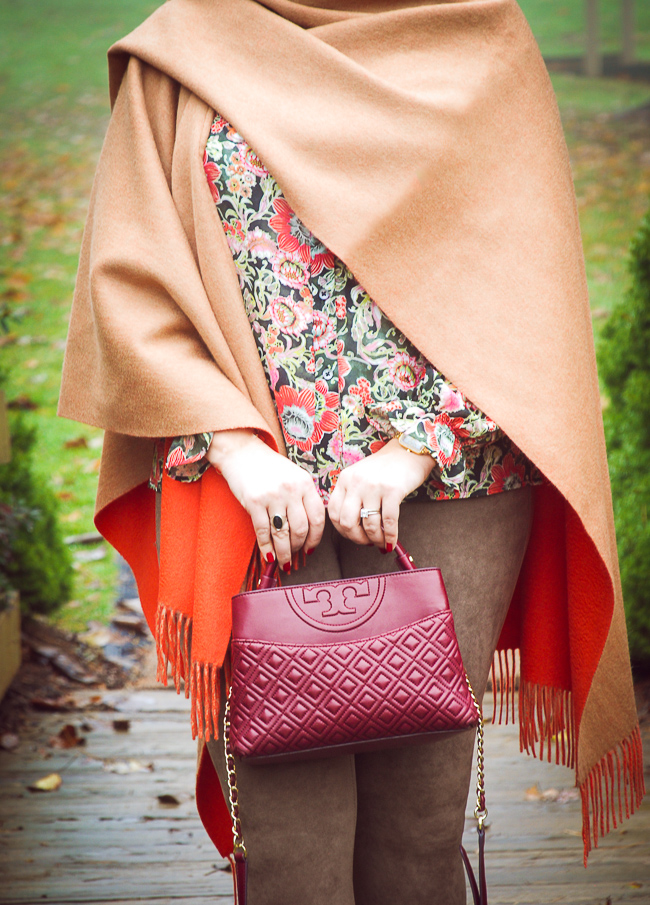 Wrap up in a stylish merino wool poncho for a chic look + my favorite ponchos under $100!