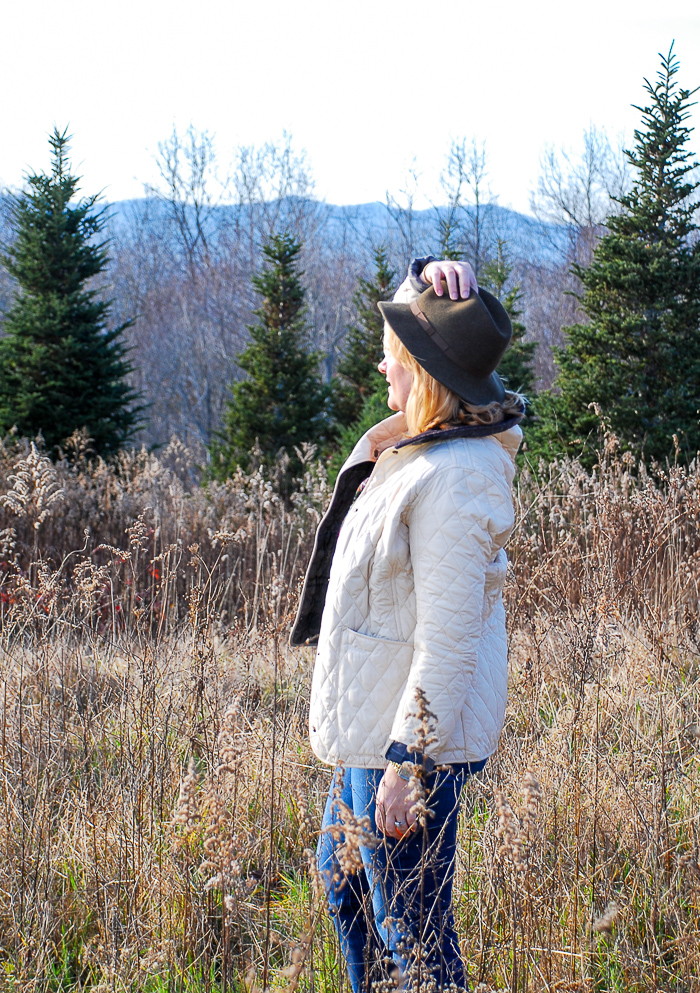 Explore the Southern Appalachian Mountains on rambling hikes #hiking #mountains #barbour #ugg