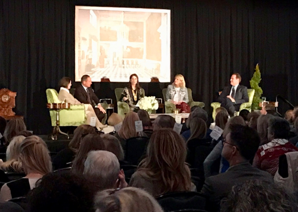 "5 Designers reveal their best interior design secrets to creating a ""sense of place"" at the Nashville Antiques & Garden Show panel lecture."
