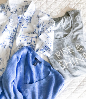 Indulge in comfy, stylish lounge wear and preppy summer pajamas with Gap!