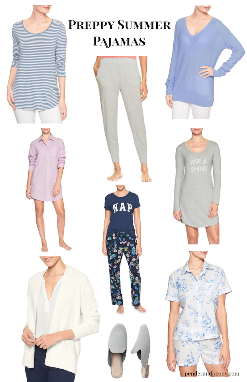 Indulge in comfy, stylish lounge wear and preppy summer pajamas with Gap! Hurry! Hurry! 60% Off Sale is on!