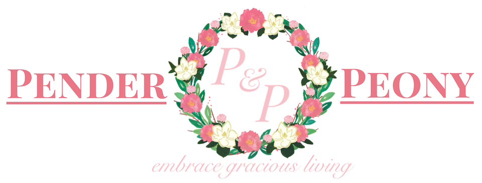 Pender & Peony, Southern Blog
