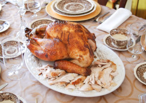 Brine a turkey for the perfectly cooked Golden turkey with moist, tender meat and delicious taste