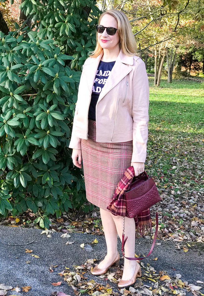 5 winter plaid pieces to add to your wardrobe - plaid skirt