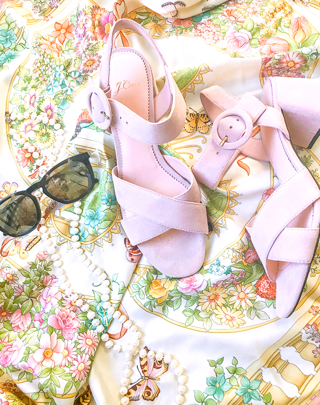 Freshen up your wardrobe with a few classic spring accessories for a pop of pastel and floral fancy