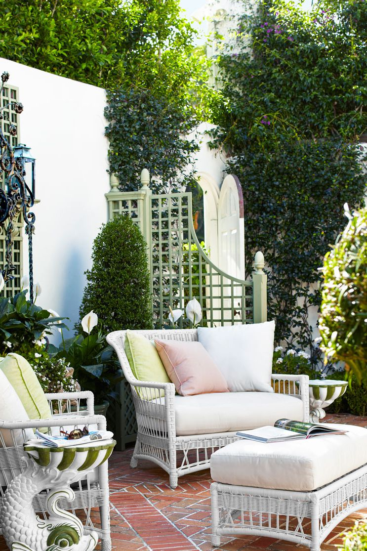 charming patio