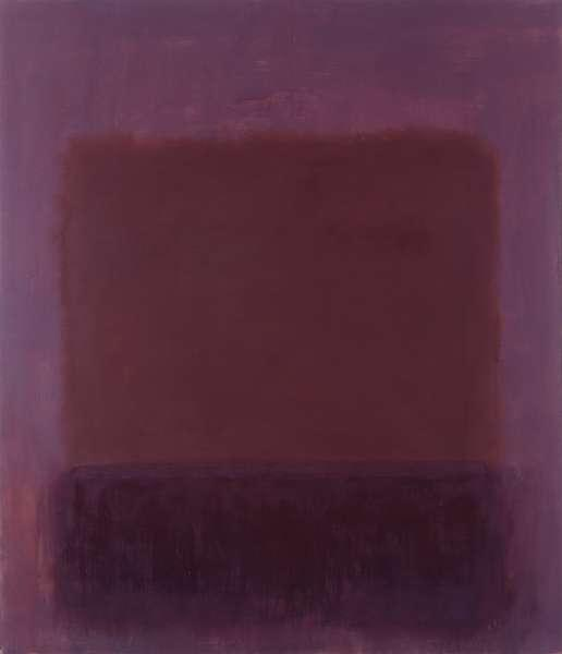 Mark Rothko Purple Brown