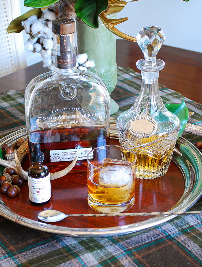 Bourbon and bitters pairings to serve at your next winter party