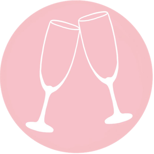 champagne flute title image for entertaining
