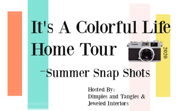 graphic a colorful life home tour
