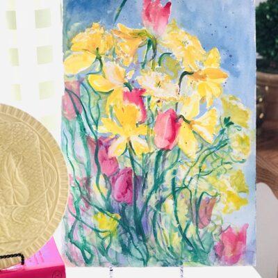 Susan Lingg Spring Florals Watercolor