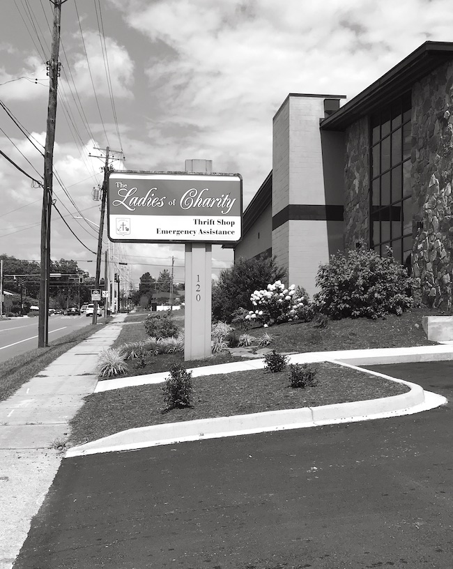 Ladies of Charity Thrift in Knoxville - One of my favorite thrift stores in East Tennessee