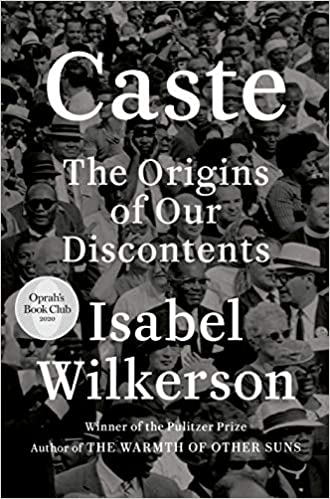 Caste by Isabel Wilkerson front cover