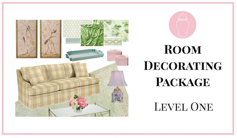 Image for room decorating package, level 1