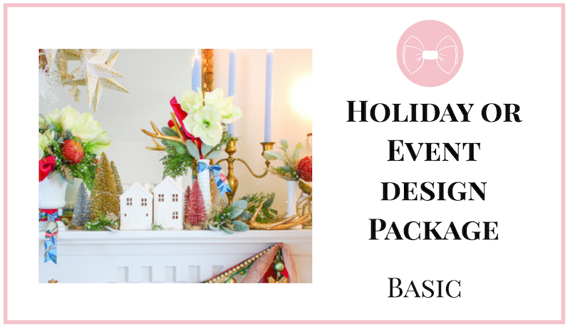 Graphic for holiday or event design package, basic
