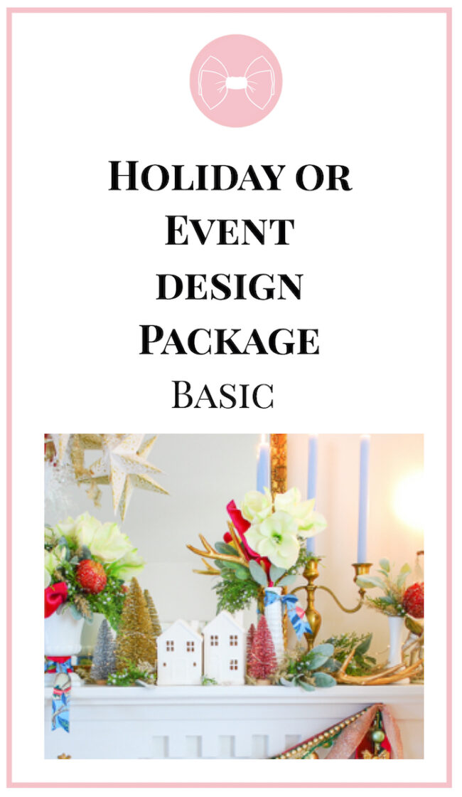 Image for holiday or event design package - basic