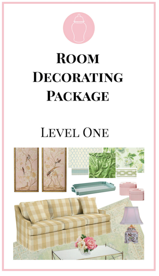 Icon for room decorating package, level one