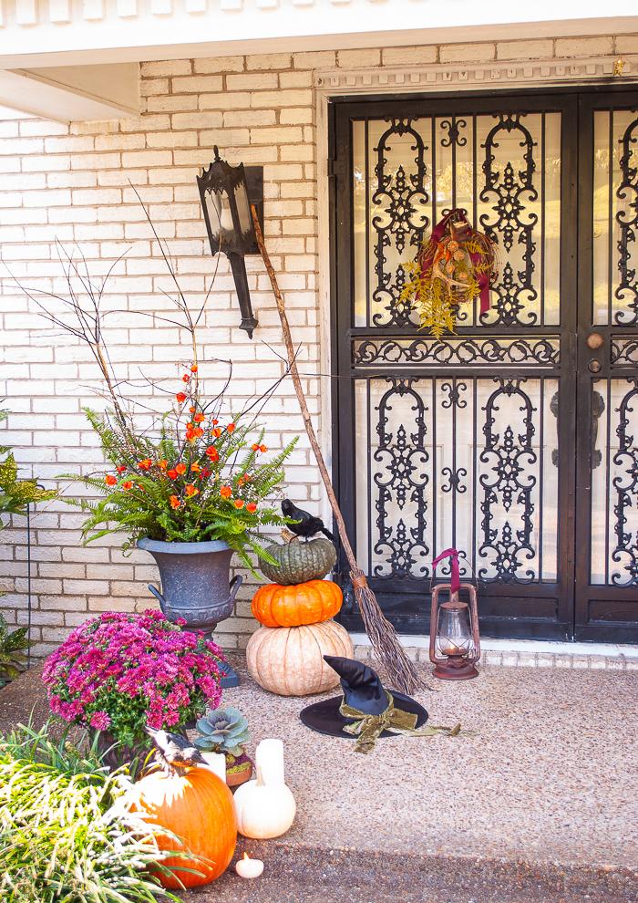 An easy 3 minute autumn wreath tutorial