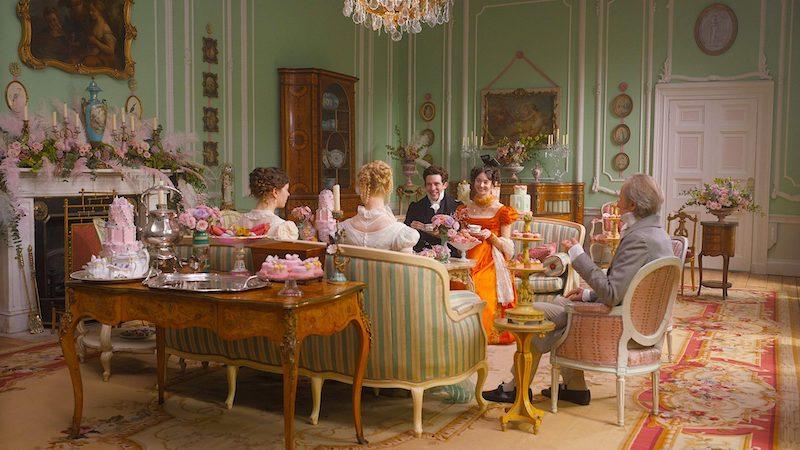 Set of Emma from Olivia de Wilde's film version 2020
