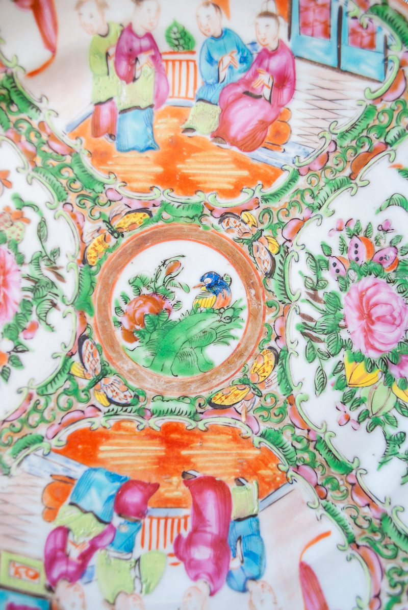 Detail of late 19th-early 20th century plate