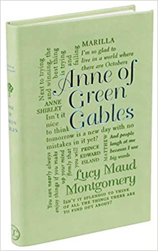 Anne of Green Gables Word Cloud Classics edition