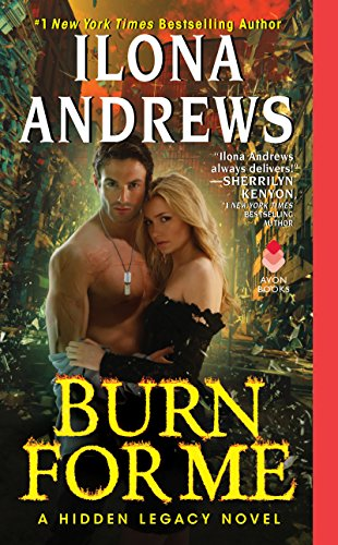 Burn for Me by Ilona Andrews book cover